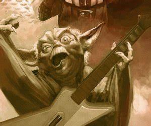 To Do List Daily Darth Vader And Yoda Playing Guitar Hero