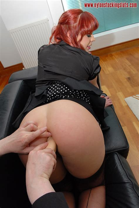 Redhead Mature Milf In Black Dress Nad Nylo Xxx Dessert