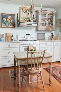 Küche Shabby Chic : shabby chic k che gem tlich und nostalgisch mit einem ~ Michelbontemps.com Haus und Dekorationen