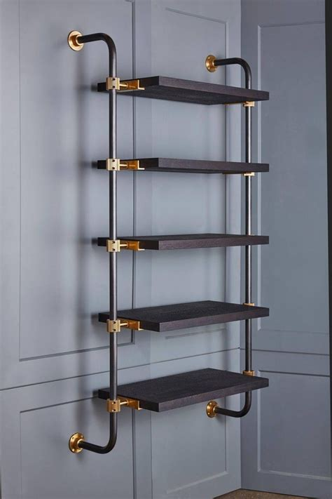 Mounted Shelves by Amuneal S Loft 2 Post With Formed Returns In 2019 For