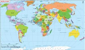 World Map Continents And Oceans For Kids   www.pixshark ...