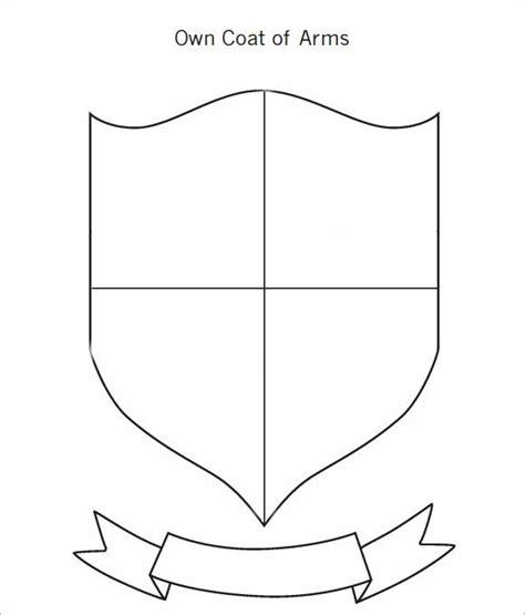 Coat Of Arms Template Coat Of Arms Template 12 In Pdf Psd Eps Vector