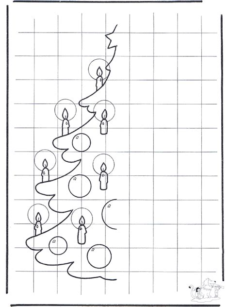 weihnachtsbaum malen basteln weihnachten
