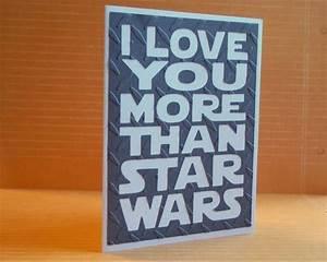 Tarjeta de amor a la Star Wars | La Guarida Geek