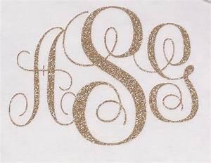 monogrammed iron on letters glitter iron on letters glitter With glitter monogram letters