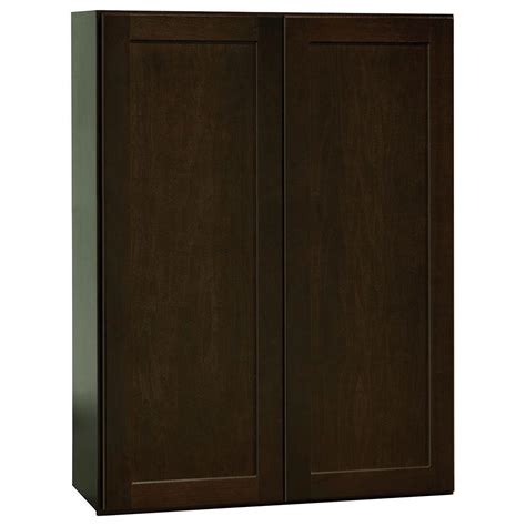 Hton Bay Shaker Wall Cabinets by Hton Bay Assembled 27x36x12 In Shaker Wall Cabinet In