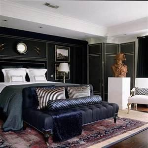 15, Elegant, Black, Masculine, Bedroom, Design, Ideas