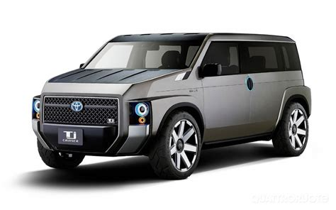 TOYOTA TJ CRUISER CONCEPT, A SUV VAN TO WORK AND PLAY