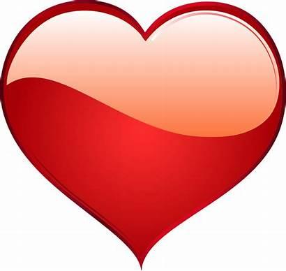 Heart Transparent Clipart Hearts Shiny Clip Tegninger