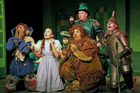 Conejo Players' Lion And Tin Man Talk About Creating The