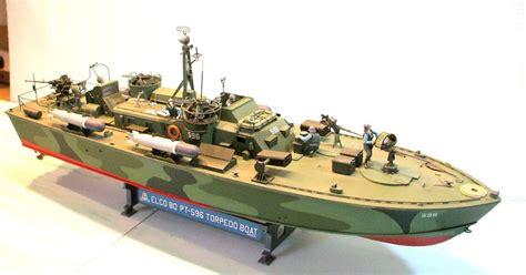 Pt Boat Color Schemes by Model Building Elco Pt Boat