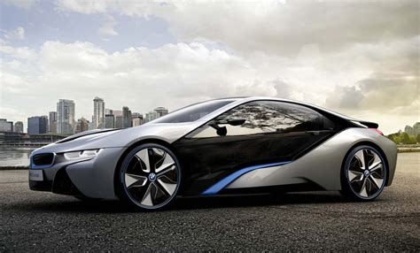 Bmw Unveils I8 Plugin Hybrid Sports Car Autogyaan