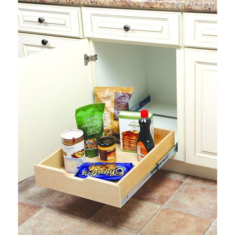 Kitchen Cabinet Organizers Wood by Real Solutions For Real 5 In H X 18 In W X 22 In D
