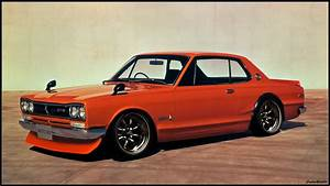 Nissan Skyline 2000 GTR (Original image below) by