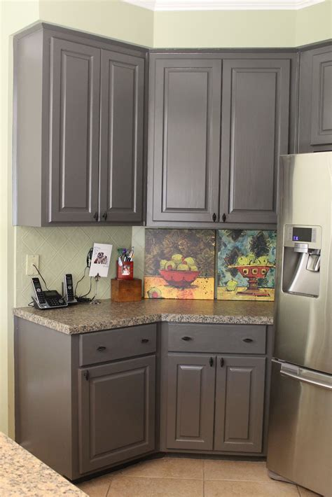 Gray Oak Painting Kitchen, Gambel Oak Gray Oak Painting