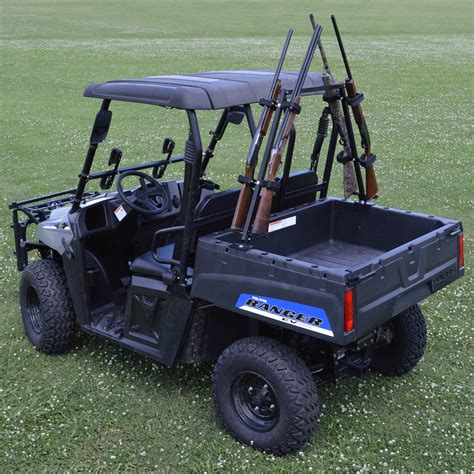 utv gun rack sporting clays utv gun rack holds 4 guns greatday qd804sc