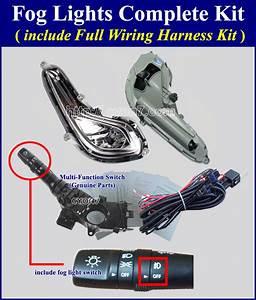 Fog Light Lamp Complete Kit Wiring Harness Kit For Hyundai Kia Vehicle Wiring Diagram
