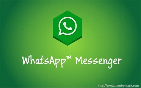 whatsapp messenger apk free for android