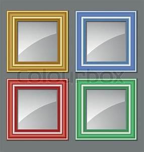 Bilder Für Rahmen : farbigen rahmen f r bilder gem lde und spiegel vektorgrafik colourbox ~ Frokenaadalensverden.com Haus und Dekorationen