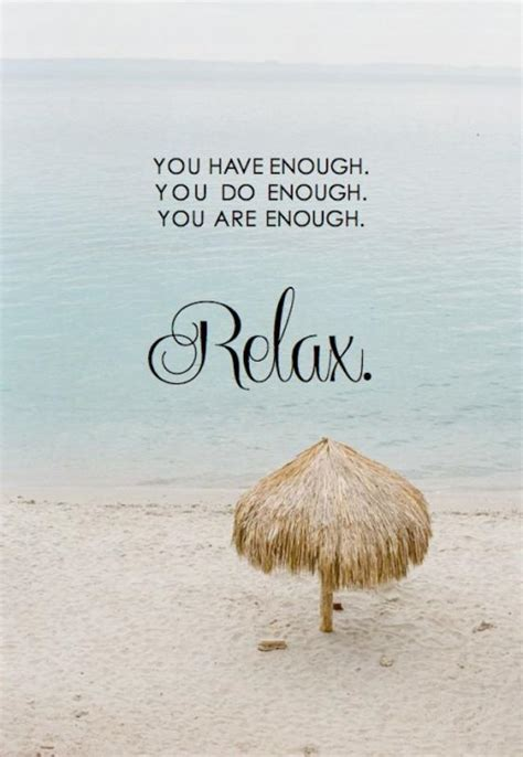 Relaxation Quotes. QuotesGram