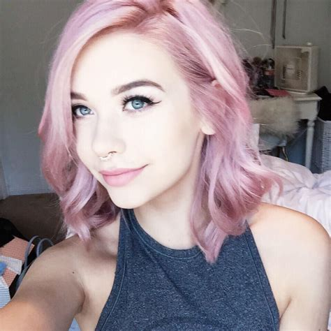 ℒᎧᏤᏋ Her Short Curled Pink Pastel Ombré Hair ღ ღ