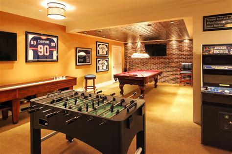 Sports Retreat  Traditional  Basement  New York By