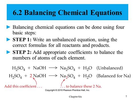 Chemical Reactions Classification And Mass Relationships  Ppt Download