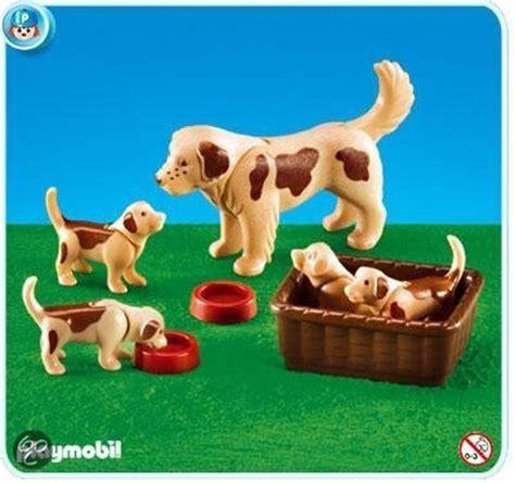 Buitenspeelgoed Voor Honden by Bol 7366 Hond Met 4 Puppies Playmobil Speelgoed