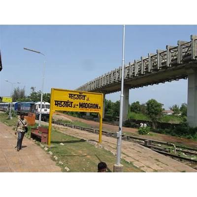 Panoramio - Photo of Madgaon Railway Station Goa. India