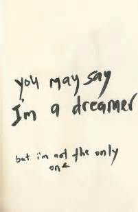 I AM a Dreamer but I'm Not the Only One