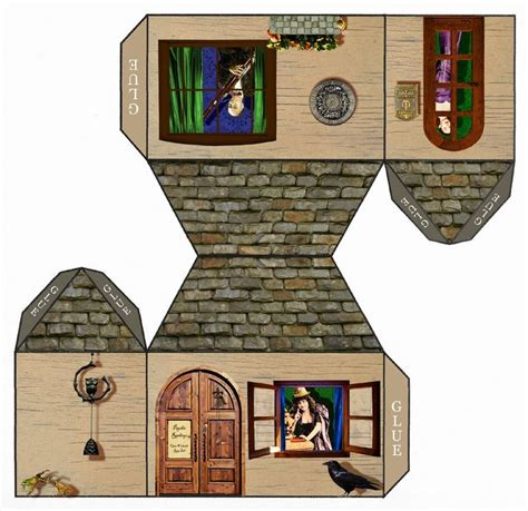 paper houses images  pinterest house template