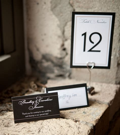table number place cards table place cardstruly engaging wedding blog