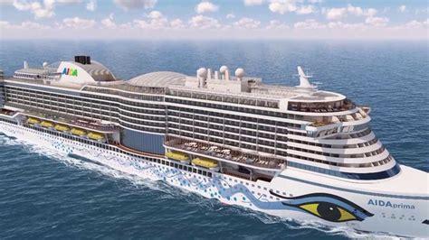 aidaprima rundflug um den neubau von aida cruises youtube