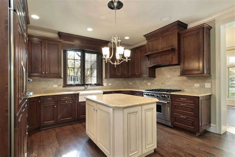 dark brown kitchen cabinets brown kitchen cabinets modification for a stunning kitchen