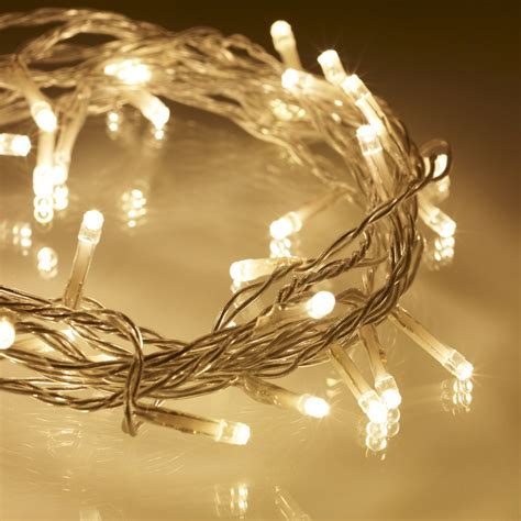 how to buy led christmas lights 40 warm white led indoor fairy lights on clear cable