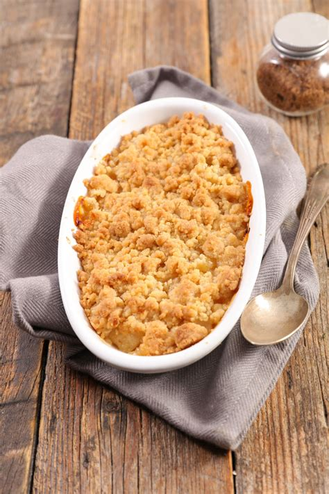 easy crumble recipe   quick topping
