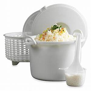 Infuse® 15-Cup Microwave Rice Cooker Set by Tabletops