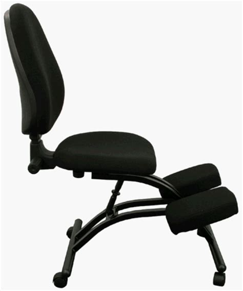 ergonomic kneeling posture office chair w back wheels