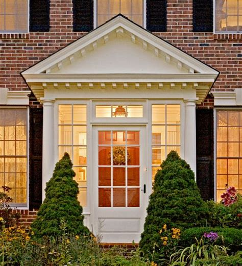exterior renovation portico ideas   house