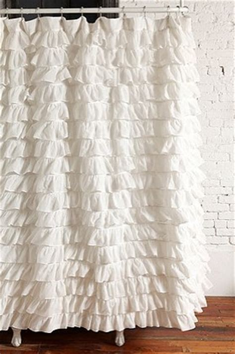outfitters shower curtain diy waves of ruffles shower curtain tutorial create enjoy