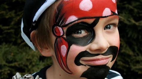 fasching schminken vorlagen pirat schminken f 252 r karneval pirat kinderschminken anleitung