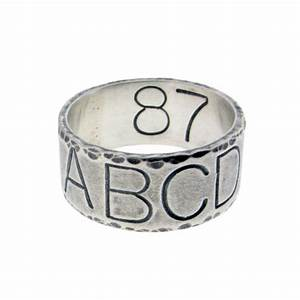 custom duck band wedding ring personalized sterling silver With duck band wedding rings for men