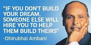 13 inspiring quotes by Dhirubhai Ambani teaching you how ...