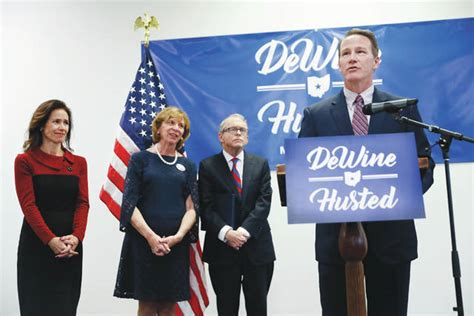 dewine husted join forces  run  ohio governor