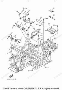 Yamaha Side By Side 2011 Oem Parts Diagram For Frame