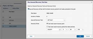 Optional  Run The Assured Recovery Test Job Manually
