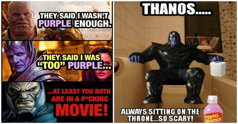 Thanos Memes - 17 fresh and hilarious thanos memes confirm that avengers will be crushed in infinity war