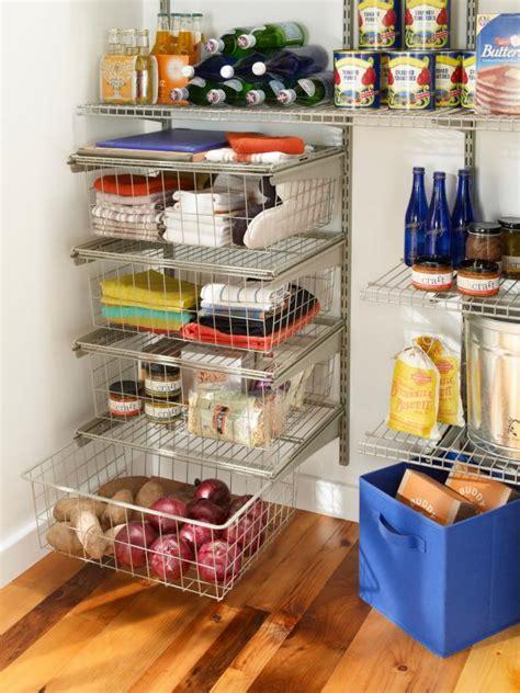wire kitchen storage 16 small pantry organization ideas hgtv 1121