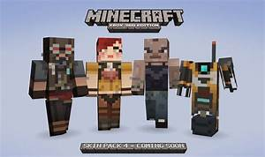 Minecraft Xbox 360 Edition Skin Pack 4 Arrives Retail