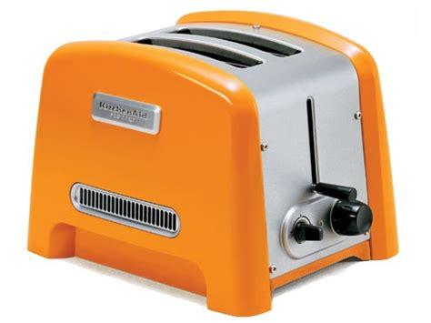 kitchenaid toaster orange orange toaster orange